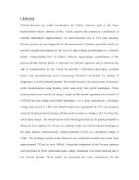 Thesis – Working Draft