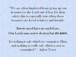 quotes by a w tozer workplace worldchangers