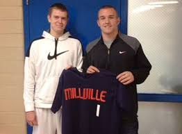 Mike Trout and Aaron Cox visit Millville Thunderbolts - nj.com