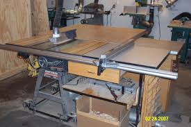 Craftsman Tablesaw Fence Woodworking Talk