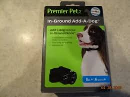 Premier Pet In Ground Fence Add A Dog Collar Gig00 16350 New Ebay