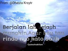 from dhestakrsyt quotes anak alam facebook