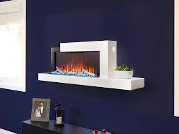 stylus wall mount electric fireplace