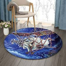 Conch Flyer Abigail White Limited Edition Round Amazon Best Seller Sku  268396 Rug