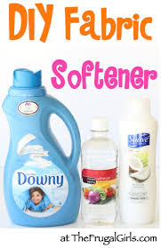 homemade fabric softener with vinegar