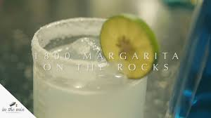 in the mix how to make 1800 margarita
