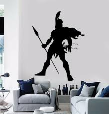Sparta Spartan Soldier Warrior Military Decor Wall Stickers Vinyl Decal 2fj40 Buy At The Price Of 8 26 In Aliexpress Com Imall Com