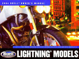 2004 buell lightning motorcycle models