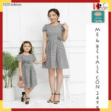 SALE MẠNH LUÔN ]Sét đầm đôi mẹ và bé gái -Đầm mẹ bé kẻ caro- đầm mẫu mới  nhất nhiều size, váy đôi mẹ và bé-thời trang