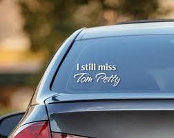 Tom Petty Car Decal Etsy