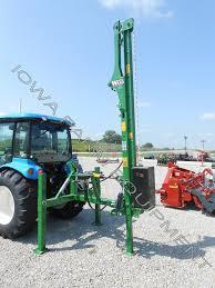 Wrag T660 Tractor 3 Point Series Post Drivers Iowa Farm Equipment