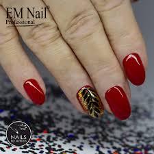 Lakier Hybrydowy Premium Boss 52 Czerwony 52 Boss Manicure