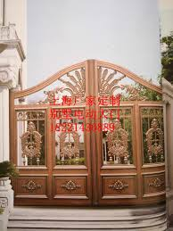 Shanghai Hench Custom Usa Australia Home Use Decorative Wrought Iron Fence Panels Steel Gate Posts Doors Aliexpress