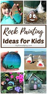 paint rocks for your garden spray paint