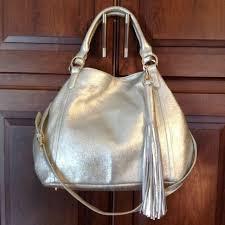 genuine leather zipper tote handbag