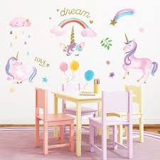 Wall Decal Unicorn Wayfair