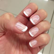 Nice And Clean French Gel Overlay Gel French Manicure French