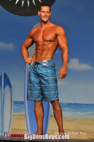 Giant bodybuilder Aaron Reed