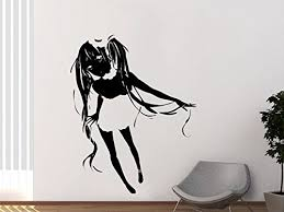 Amazon Com Wall Decal Wall Decal Anime Comics Wall Sticker Vinyl Sticker Anime Girl Dragon Tattoo Gift Bedroom Holl Kau 185 Handmade