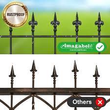 Amagabeli Garden Home Decorative Garden Fence Gfp008 Outdoor 27inx11