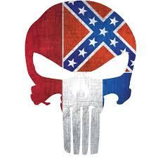 Mississippi Flag Punisher Skull Window Decal Police Fire Ems Viny Graphics Stickers Decals Dkedecals
