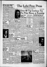 Lehi Free Press from Lehi, Utah on June 26, 1952 · 1
