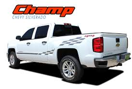 Champ Silverado Stripes Silverado Decals Silverado Vinyl Graphics