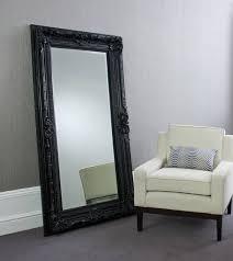 valois black mirror floor standing