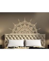 2020 Sales On Leyla Half Mandala Wall Decal Bungalow Rose Color Beige