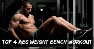 5 best abs weight bench exercises at home