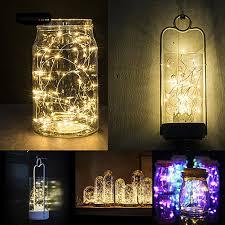 Dây đèn led 2m 20 đèn chạy bằng pin dùng trang trí tiệc Giáng Sinh