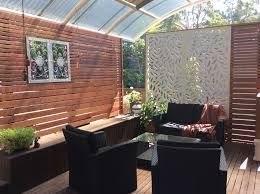 Bunnings Screens Patio Outdoor Rooms Backyard Shade