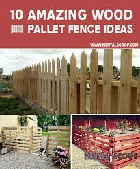 10 Amazing Diy Wood Pallet Fence Ideas Steemit