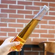 triangle shape glass bottle 330ml