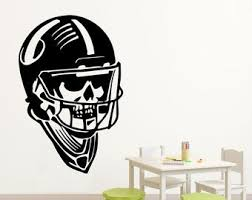 American Football Quotes Ball Sport Activity Bedroom Kids Nursery Girl Boy Wall Sticker Decals Room Design Decor 793re Stickers