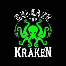 Release The Kraken T Shirt By Brogress Project Black Large Mens Fitted Tee In 2020 Release The Kraken Kraken Art Kraken