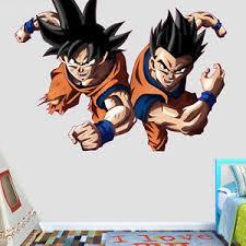 Dragon Ball Super Goku And Gohan Wall Decal Decor Stickers Vinyl Ebay