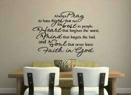 Always Pray To Have Eyes That See God Quote Wall Art Decal Words Lettering Decor Ebay