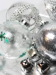 diy ideas to decorate clear ornaments