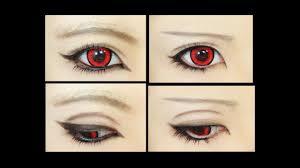 anime eyes makeup male hd wallpaper
