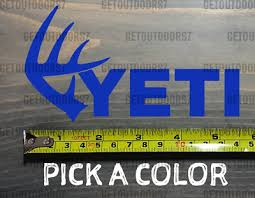 Yeti Sticker Decal Coolers 5 5 Deer Shed Antlers Tundra Hopper Xo 3 88 Picclick Ca