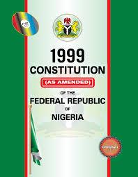 Constitution of the Federal Republic of Nigeria - 1999 ...
