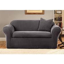 sure fit stretch metro 2 piece sofa