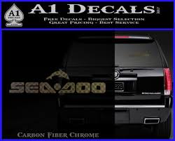 Sea Doo Logo Decal Sticker Dw A1 Decals