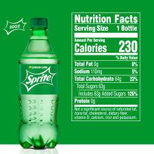 lemon lime soda soft drink 20 fl oz