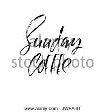 coffee cup modern dry brush lettering coffee quotes hand