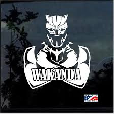 Unique Marvel Black Panther Wakanda Window Decal Sticker Check It Out Here Https Customstickershop Us Shop Car Decals Marvel Black Panther Wakanda Sticker