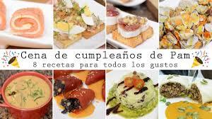 Cena De Cumpleanos De Pam 8 Recetas Para Todos Los Gustos Cocina Con Fer Youtube