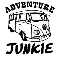 13 7cm 14 5cm Adventure Junkie Funny Car Sticker Decal Vinyl Car Styling Car Decal Stickers Black Sliver C8 0169 Stickers Beats Sticker Booksticker Kit Aliexpress