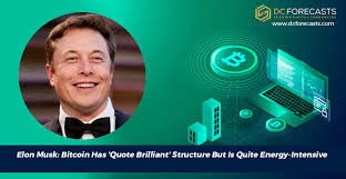 bitcoin has quote brilliant structure but is quite energy intensive